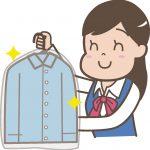 クリーニングから戻ってきた服の保管方法!実はそのままではダメなんです。